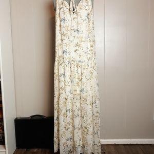 NWT DREW anthropologie naomi floral maxi dress